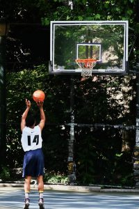 Bilaterales Techniktraining mit Basketball